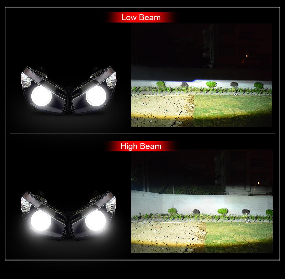 2016 kawasaki Z1000SX headlight
