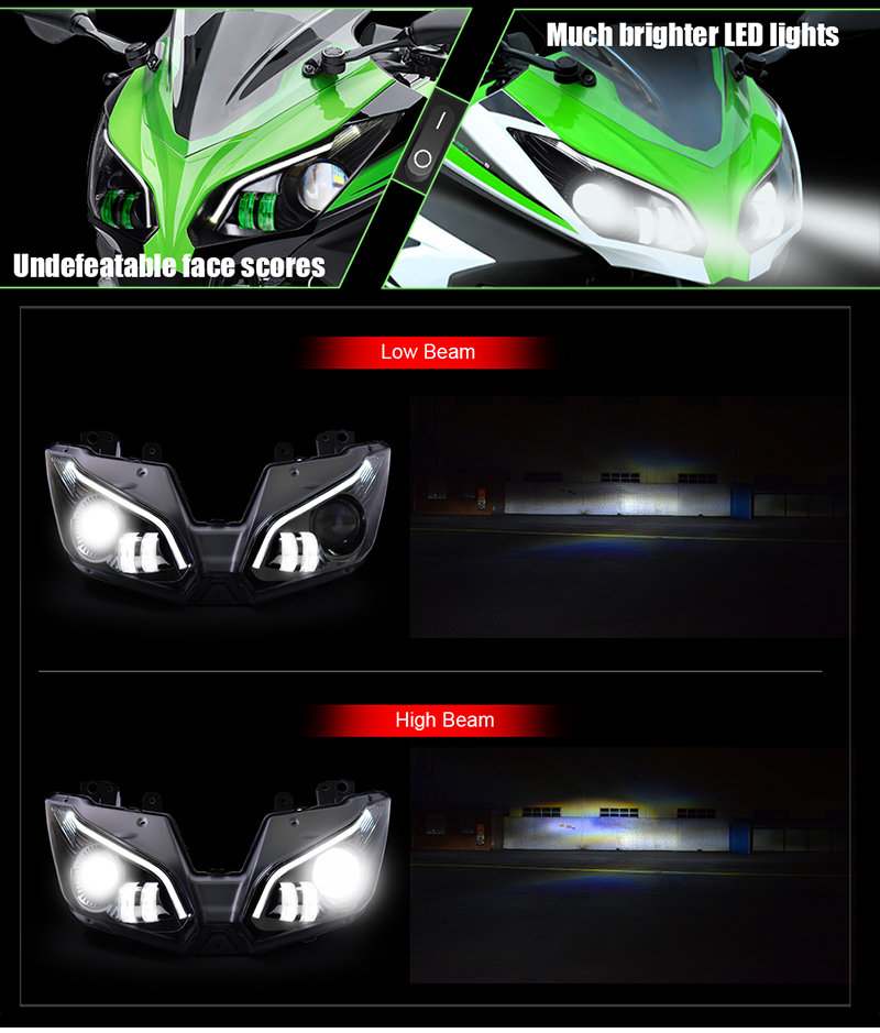 Ninja 300 Headlight 2013 2014
