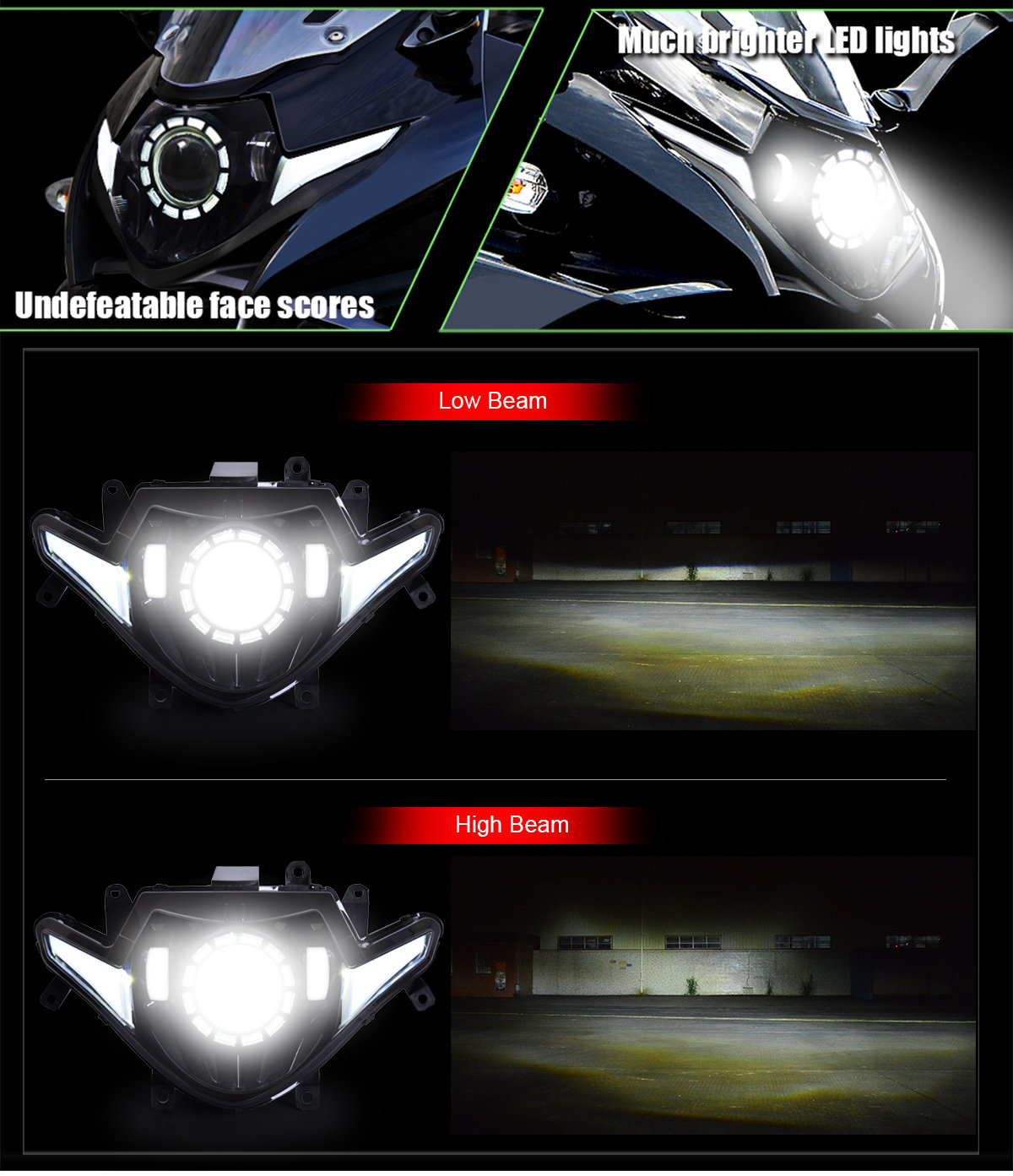 Suzuki GSX250R LED Headlight 2017 2018